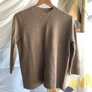 Madewell wool waffle sweater